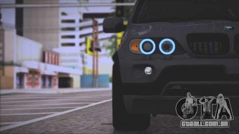 BMW X5 E53 para GTA San Andreas interior