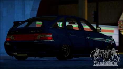 VAZ 2112 itens de Qualidade para GTA San Andreas interior