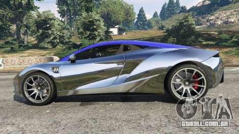 GTA 5 Arrinera Hussarya v1.0 vista lateral esquerda