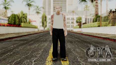 Alice Baker Young Member without Glasses para GTA San Andreas segunda tela