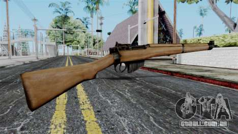 Lee-Enfield No.4 from Battlefield 1942 para GTA San Andreas segunda tela