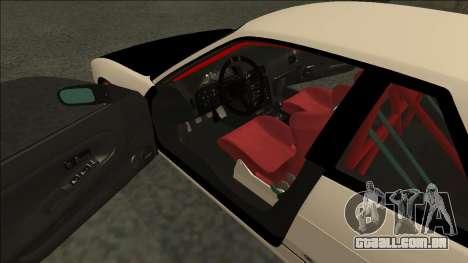 Nissan Silvia S13 Drift para GTA San Andreas vista direita