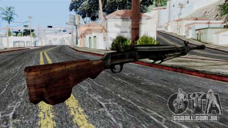 DP LMG from Battlefield 1942 para GTA San Andreas segunda tela
