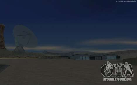 Nova Base Militar v1.0 para GTA San Andreas décima primeira imagem de tela