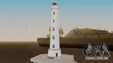 LS Santa Maria Lighthouse para GTA San Andreas