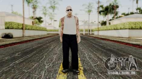 Alice Baker Young Member para GTA San Andreas segunda tela