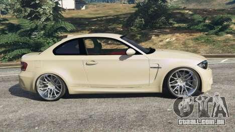 GTA 5 BMW 1M v1.1 vista lateral esquerda