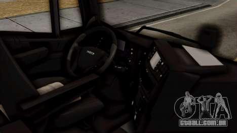 Volvo Truck from ETS 2 para GTA San Andreas vista direita