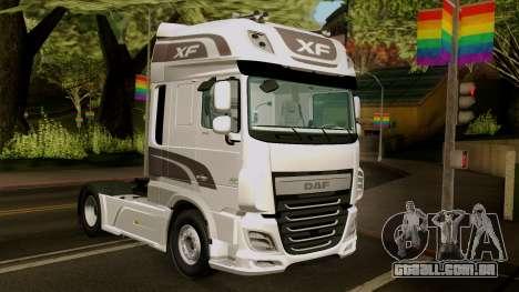 DAF XF Euro 6 SSC para GTA San Andreas