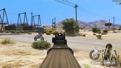 GTA 5 P-90 из Battlefield 4 sexta imagem de tela