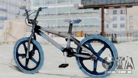 Custom Bike from Bully para GTA San Andreas esquerda vista