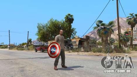 Escudo Do Capitão América para GTA 5