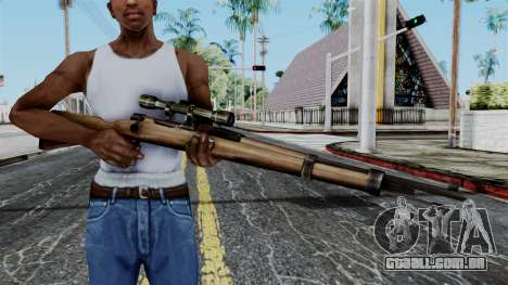 Kar98k Scope from Battlefield 1942 para GTA San Andreas terceira tela