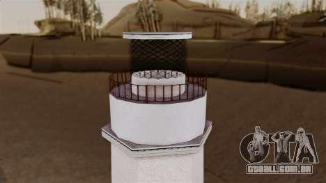 LS Santa Maria Lighthouse para GTA San Andreas por diante tela