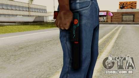 USP-S Caiman para GTA San Andreas terceira tela