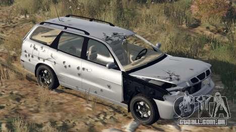 GTA 5 Daewoo Nubira eu Vagão-NOS DE 1999 - versão FINA volante