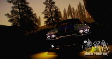 ENB White_SA v1.0 para GTA San Andreas por diante tela