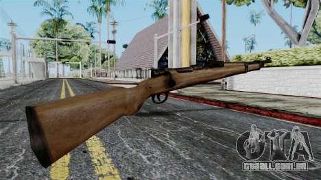 Kar98k from Battlefield 1942 para GTA San Andreas segunda tela