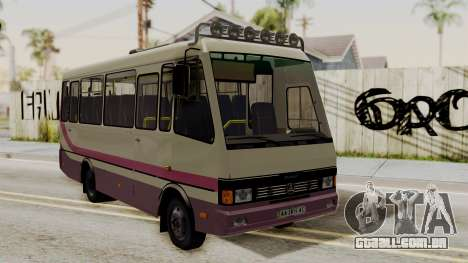 BAZ A079.07-padrão para GTA San Andreas