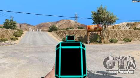 GTA 5 Saints Row 3 Cyber SMG Emissive v1.01 terceiro screenshot