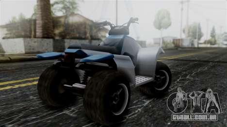 Updated Quad para GTA San Andreas esquerda vista