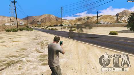 O aumento efeitos de acertos para GTA 5