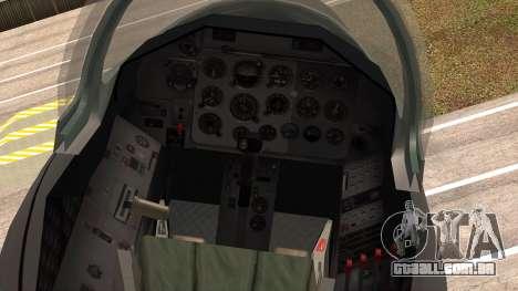 Aero L39 ZA Albatros - Nr. 146 (Romania) para GTA San Andreas vista direita
