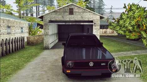 Volkswagen Golf Mk2 Line para GTA San Andreas esquerda vista