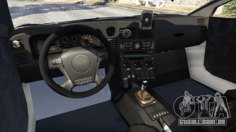 GTA 5 Arrinera Hussarya v1.0 traseira direita vista lateral