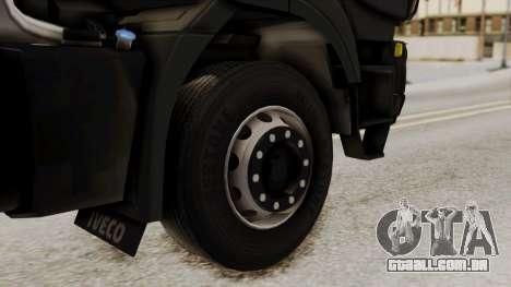 Volvo Truck from ETS 2 para GTA San Andreas traseira esquerda vista
