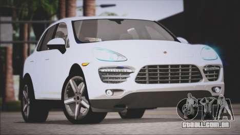 Porsche Cayenne Turbo 2012 para GTA San Andreas