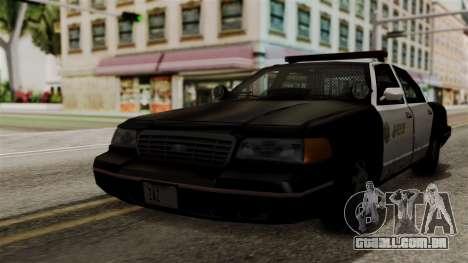Ford Crown Victoria LP v2 Sheriff para GTA San Andreas