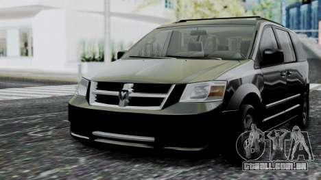 Dodge Grand Caravan 2010 para GTA San Andreas