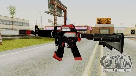 M4A1-S Cyrex para GTA San Andreas segunda tela
