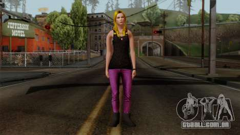 Buffy Vampire Slayer para GTA San Andreas segunda tela