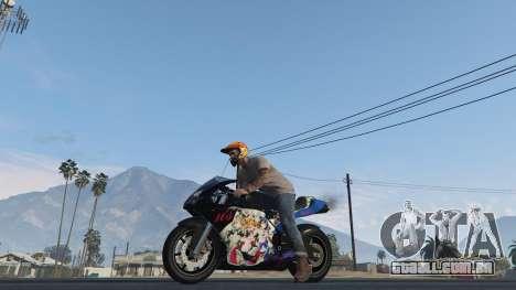 GTA 5 Pegassi Bati 801RR Anime Texture Pack voltar vista
