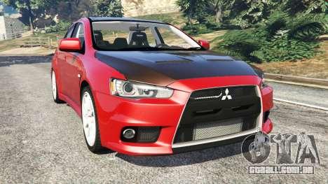 Mitsubishi Lancer Evolution X para GTA 5