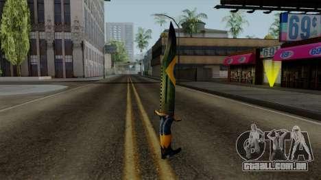 Brasileiro Knife v2 para GTA San Andreas segunda tela