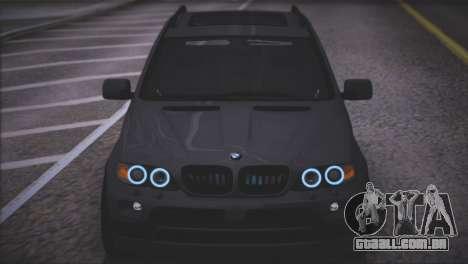 BMW X5 E53 para GTA San Andreas vista superior