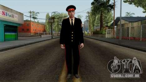 Vice-Sargento Kazan VCA v2 para GTA San Andreas segunda tela
