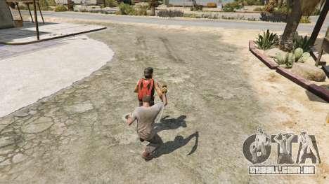 GTA 5 Cimitarra de Skyrim quinta imagem de tela