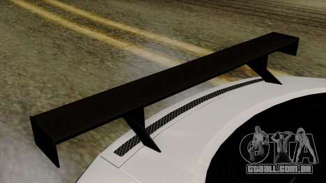 Audi R8 v1.0 Edition Liberty Walk para GTA San Andreas vista traseira