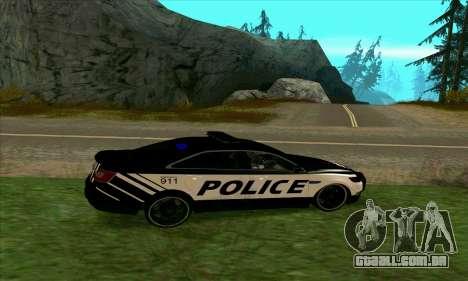 Federal Police Ford Taurus HSO para GTA San Andreas esquerda vista