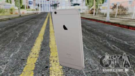 iPhone 6S Space Grey para GTA San Andreas terceira tela