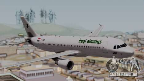 Airbus A320-200 Iraqi Airways para GTA San Andreas