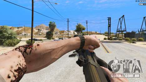 GTA 5 P-90 из Battlefield 4 sétima screenshot