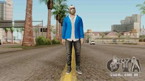 H2O Delirious Skin para GTA San Andreas segunda tela