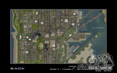 HD cartão para Diamondrp para GTA San Andreas