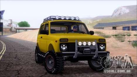 VAZ 2121 Niva Offroad para GTA San Andreas vista inferior