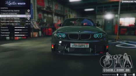 GTA 5 BMW 1M v1.0 frente vista lateral direita